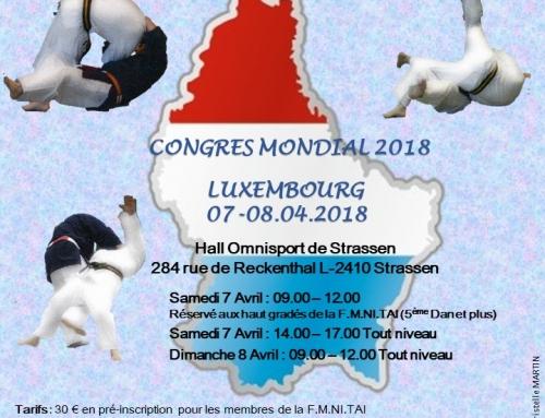Congrès mondial 2018